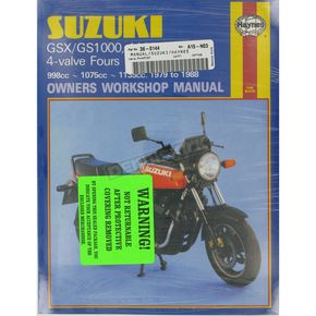 Haynes Suzuki Motorcycle Repair Manual  - 737