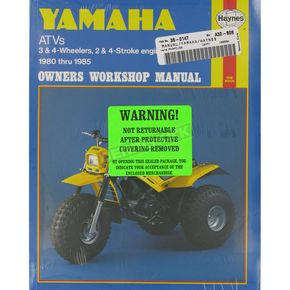 Haynes Yamaha Repair Manual - 1154