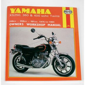 Haynes Yamaha Motorcycle Repair Manual  - 378