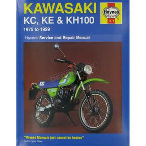 Haynes Kawasaki Repair Manual - 1371