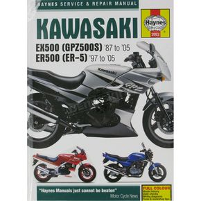 Haynes Kawasaki EX500/ER500 Repair Manual  - 2052