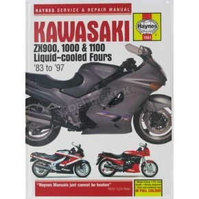 Haynes Kawasaki Motorcycle Repair Manual  - 1681
