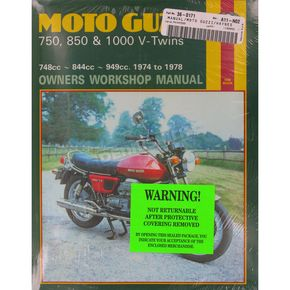 Haynes Moto Guzzi Motorcycle Repair Manual  - 339