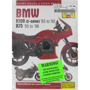 Haynes BMW Motorcycle Repair Manual  - 1373