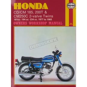 Haynes Honda Motorcycle Repair Manual  - 572