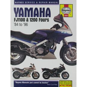Haynes Yamaha FJ1100/1200 Repair Manual  - 2057