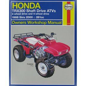Haynes Honda Repair Manual - 2125