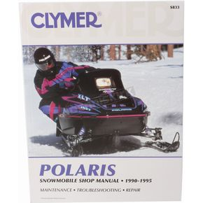 Clymer Polaris Service Manual - S833