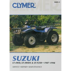 Clymer Suzuki Repair Manual - M483-2