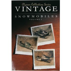 Clymer Vintage Snowmobile Service Manual - S820