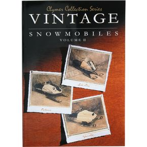 Clymer Vintage Snowmobile Service Manual - S821