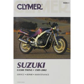 Clymer Suzuki Repair Manual  - M484-3