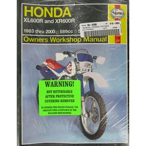 Haynes Honda Repair Manual - 2183