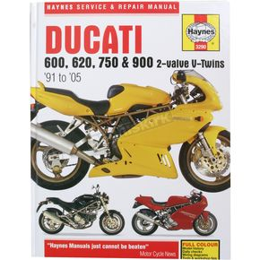 Haynes Ducati Motorcycle Repair Manual  - 3290