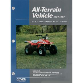 Clymer ATV Service Manual Volume 1, Second Edition - ATV12