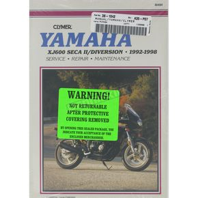 Clymer Yamaha Repair Manual  - M494