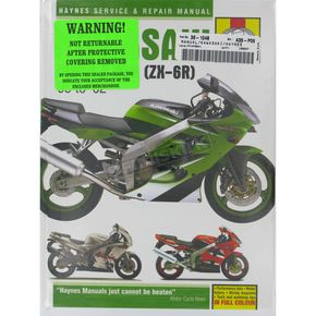 Haynes Kawasaki ZX600 Repair Manual - 3541