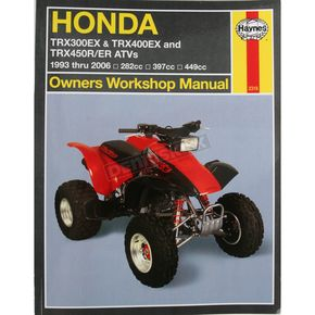 Haynes Honda Repair Manual - 2318