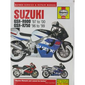 Haynes Suzuki GSX-R600/GSX-R750 Repair Manual - 3553