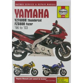 Haynes Yamaha Motorcycle Repair Manual - 3702