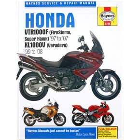 Haynes Honda Motorcycle Repair Manual - 3744