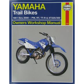 Haynes Yamaha Repair Manual - 2350