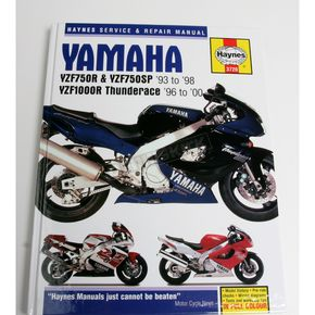 Haynes Yamaha Motorcycle Repair Manual - 3720