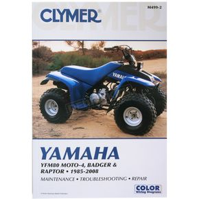 Clymer Yamaha Repair Manual - M4992