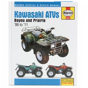 Haynes Kawasaki Repair Manual - 2351