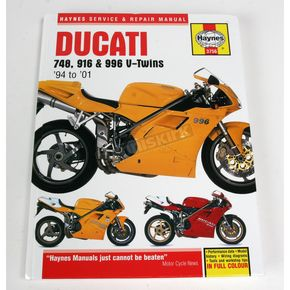 Haynes Ducati Motorcycle Repair Manual - 3756
