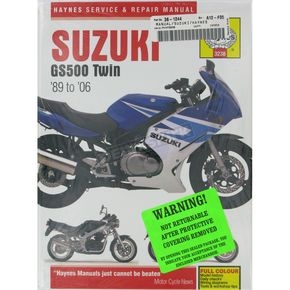 Haynes Suzuki GS500 Twin Repair Manual - 3238
