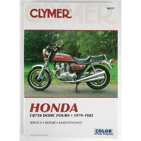 Clymer Honda Repair Manual  - CN