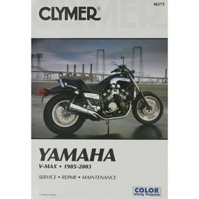 Clymer Yamaha V-Max Repair Manual - M375