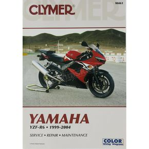 Clymer Yamaha YZF-R6 Repair Manual - M461