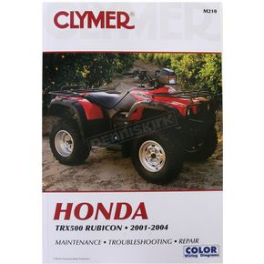 Clymer Honda Repair Manual - M210