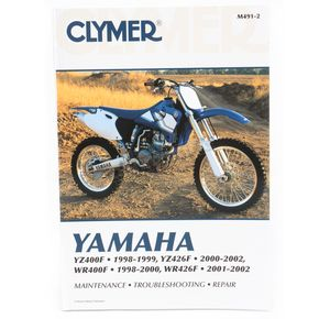 Clymer Yamaha Dirt Bike Repair Manual - M491-2