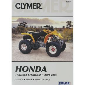 Clymer Honda ATV Repair Manual - M215