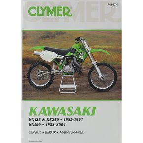 Clymer Kawasaki Repair Manual - M447-3