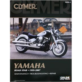 Clymer Yamaha Repair Manual - 2822
