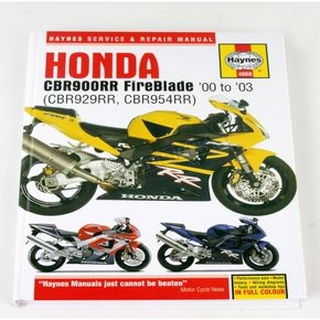 Haynes Honda Motorcycle Repair Manual - 4060