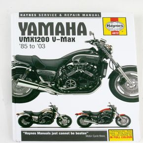 Haynes Yamaha VMX1200 V-Max Repair Manual  - 4072