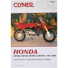 Clymer Honda Repair Manual - M319-2