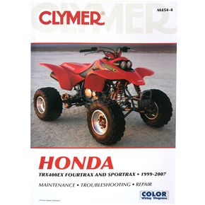 Clymer Honda Repair Manual - 4544