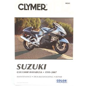 Clymer Suzuki Repair Manual  - M265