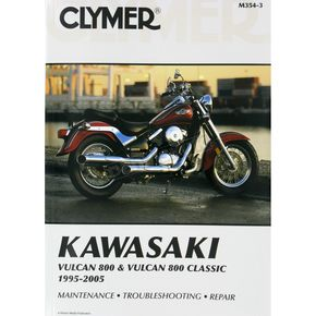 Clymer Kawasaki Repair Manual - M354-3