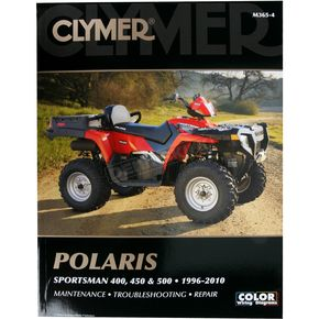 Clymer Polaris Repair Manual - M3653
