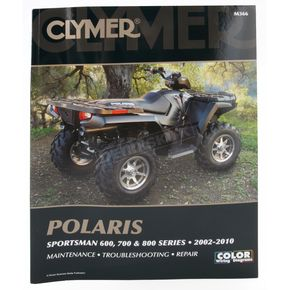 Clymer Polaris Repair Manual - M366