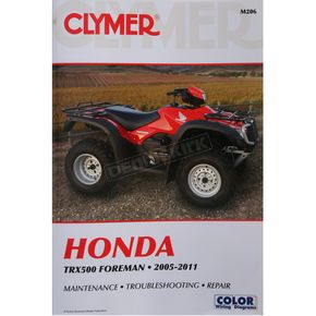 Clymer Honda Repair Manual - M206