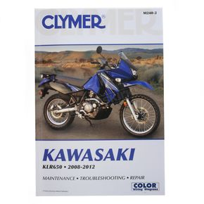 Clymer Kawasaki Repair Manual - M240-2
