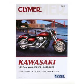 Clymer Kawasaki Repair Manual - M245